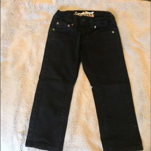Denizen from Levi's black jeans 4T